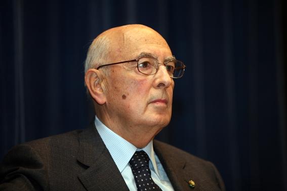 Giorgio Napolitano, Président de la République Italienne