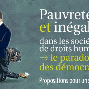 Combattre la pauvreté par les Droits de l'Homme?