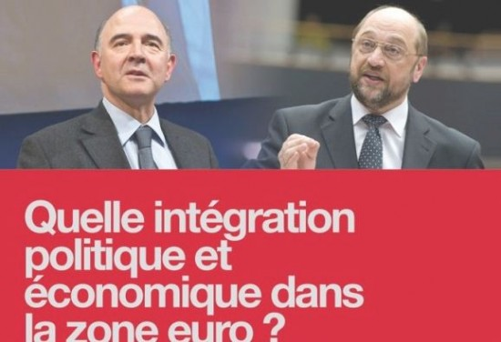 Pierre Moscovici et  Martin Schultz