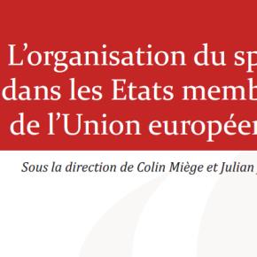 Coup de cœur littéraire : «L'organisation du sport dans les Etats membres de l'UE»