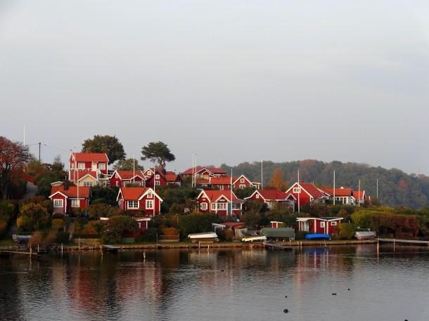 Paysage typique (Suède)