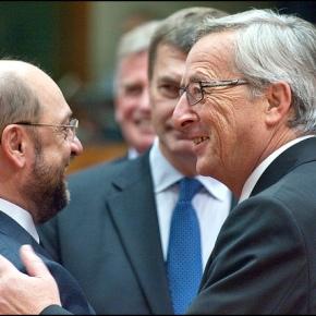 Jean-Claude Juncker v Martin Schulz : premierdébat