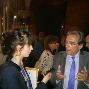 La réaction de Roland Ries, maire social-démocrate de Strasbourg, à l'aube des résultats électorauxeuropéens