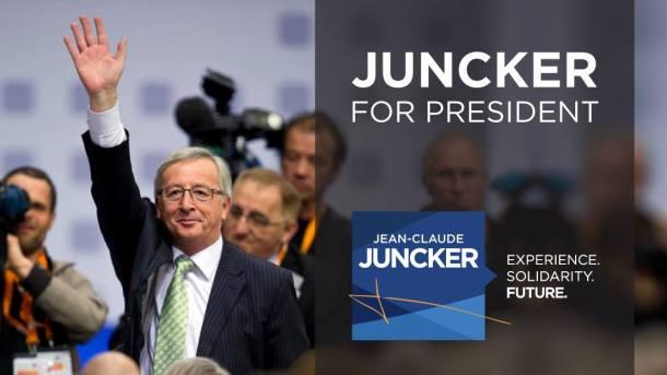 Jean-Claude Juncker, candidat du PPE à la présidence de la Commission européenne.
